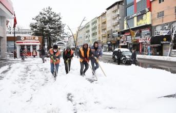 Kar nedeniyle  262 köye ulaşım sağlanamıyor