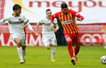 Kayseri ve Alanya'dan karşılıklı birer gol