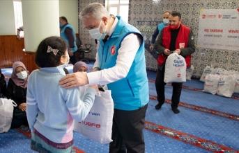 TDV ve WEFA'dan  ihtiyaç sahibi çocuklara yardım