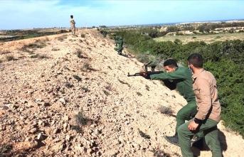 Türk askerinden Libya Silahlı Kuvvetlerine eğitim