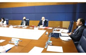 Veysel Eroğlu başkanlığında Irak'ın su sorunu için toplantı yapıldı