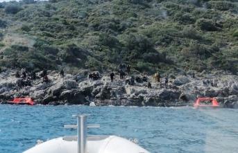 Yunanistan geri itti, 127 sığınmacıyı Türkiye kurtardı