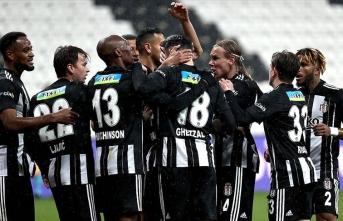 Beşiktaş Gaziantep'i eli boş gönderdi