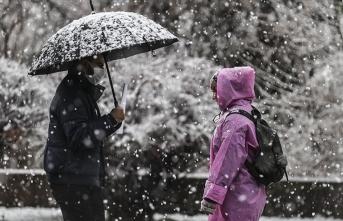 Meteoroloji o illeri uyardı: Kar ve sağanak geliyor