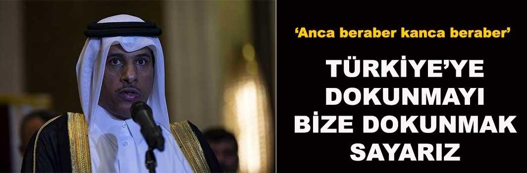 'Türkiye'ye dokunmayı, bize dokunmak sayarız'