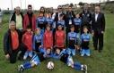 Şırnaklı çocuklar Barselona'da futbol şampiyonu...