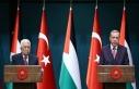 Başkan Erdoğan, Filistin lideri Abbas ile görüştü