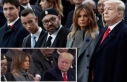 Kral, Trump'ı kızdırdı... Bakışlara dikkat