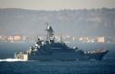 ABD'nin ardından Rus gemileri de boğazdan geçti