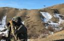 PKK'lı teröristlere ait 6 barınak ve sığınak...