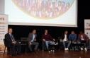 Ünal Karaman ve Trabzonsporlu futbolcular öğrencilerle...