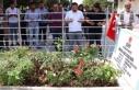 Şehit Ömer Halisdemir'in kabri ziyaretçi akınına...