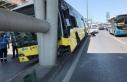 D-100'de kaza: Trafik felç oldu, çok sayıda...