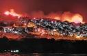 İzmir'de yerleşim alanlarına yaklaşan makilik...