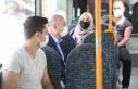 Bakan Soylu, halk otobüsüne bindi, vatandaşları...