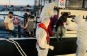 İzmir'de Türk kara sularına geri itilen 103...