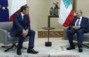 Lübnan Cumhurbaşkanı Avn, Macron'dan Beyrut'taki...
