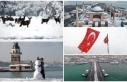 Kar her yeri beyaza bürüdü: Yurttan kartpostallık...