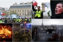 Avrupa basını Paris'teki olayları böyle gördü: 'Gerilla savaşı'