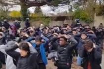 Fransa bu görüntüleri konuşuyor!