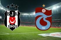 Büyük düello! İşte Beşiktaş ve Trabzonspor'un 11'leri