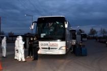 Kuveyt'ten getirilen 348 Türk vatandaşı Aksaray'daki yurda yerleştirildi
