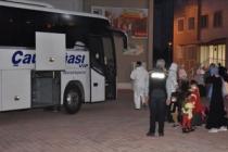Suudi Arabistan'dan 308 Türk vatandaşı Adıyaman'a getirildi