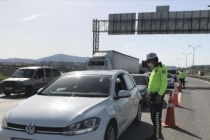 İstanbul'a araç giriş-çıkışları denetleniyor