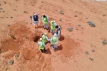 Libya'da Hafter milislerinden kurtarılan Terhune'deki toplu mezardan 9 ceset daha çıkarıldı
