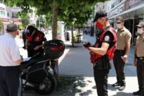 Maske takmayan 240 kişiye idari para cezası kesildi