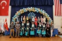 ABD'deki Maarif Okulu ikinci mezunlarını verdi