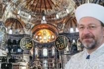 Diyanet Başkanı Erbaş'tan dini liderlere 'Ayasofya' mektubu