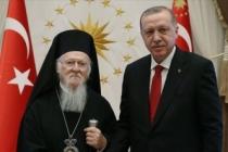 Fener Rum Patriği Bartholomeos'tan Cumhurbaşkanı Erdoğan'a Sümela teşekkürü