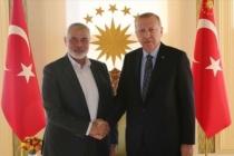 Hamas lideri Heniyye'den Cumhurbaşkanı Erdoğan'a Ayasofya tebriği