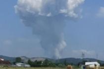 Havai fişek fabrikasında şiddetli patlama! 'İçeride 200 kişi var!'