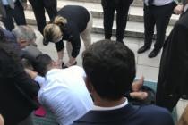 HDP Grup Başkanvekili Beştaş, Meclis'te kaza geçirdi