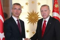 Erdoğan, Stoltenberg ile görüştü