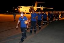 Lübnan'ın yardımına koşan arama-kurtarma ekipleri yurda döndü