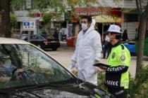 Kovid-19 kurallarına uymayan 56 araç ve sürücüsüne ceza