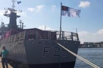 Türkiye, o askeri gemi için Beyrut'a geldi!