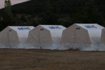 AFAD'dan Polatlı'daki tarım işçilerine çadır