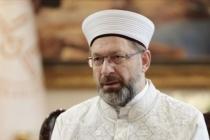 Ali Erbaş'tan imam hatiplilerle ilgili sözlere tepki