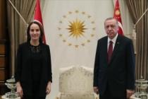 Erdoğan, Parlamentolararası Birlik Başkanı Gabriela Cuevas Barron'u kabul etti
