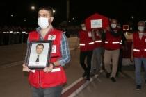 Türk Kızılay personelinin cenazesi memleketine uğurlandı