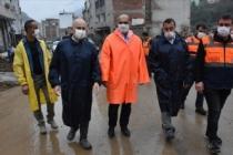 Ulaştırma ve Altyapı Bakanı Karaismailoğlu yeniden Dereli'de