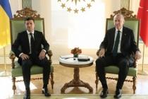 Cumhurbaşkanı Erdoğan, Zelenskiy ile görüştü