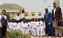 Şefkat Yolu Derneği Senegalli yetimlere el uzattı