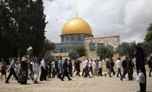 Yahudiler Mescid-i Aksa'da provokasyon yapıyor