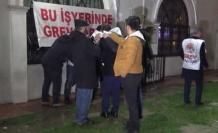İZBAN çalışanlarının grevi başladı