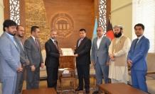 Afganistan Millet Meclisinden TİKA'ya takdir belgesi